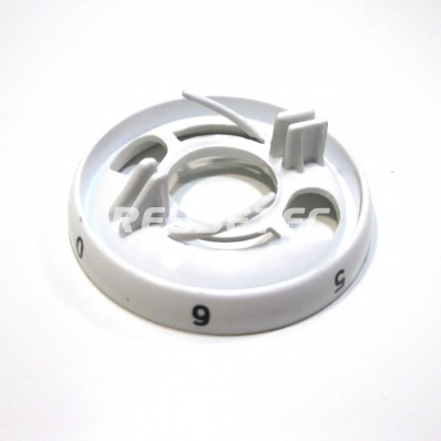 Embellecedor mando 7P blanco S-98